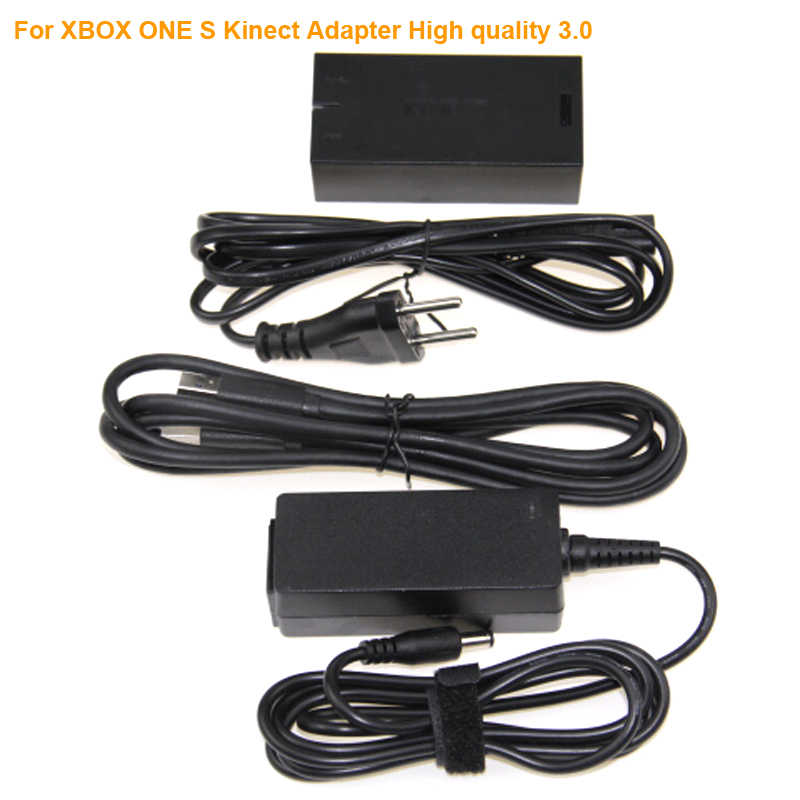 2018 Kinect Adapter for Xbox One for XBOX ONE Kinect 3.0 Adaptor EU Plug USB AC Adapter Power Supply For XBOX ONE S