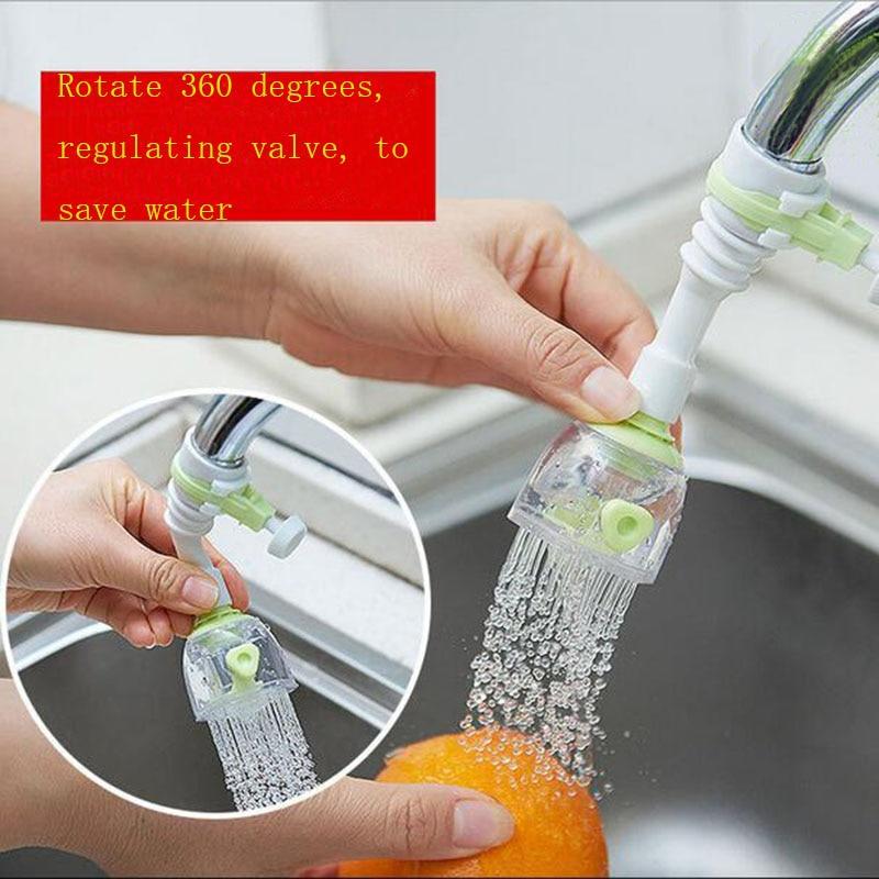 Кухня инструменты водопроводной воды Бегемот разлива воды управления КЛАПАН шланга может вращаться на 360 градусов изгиб в случайном порядке