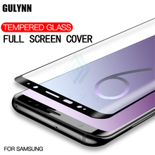 New Full Tempered Glass For Samsung Galaxy S8 S9 Plus Note 8 5D Curved Edge Screen Protector Film