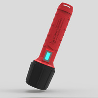 3100mAh 3W Nylon Material Explosion Proof LED Flashlight Lighting