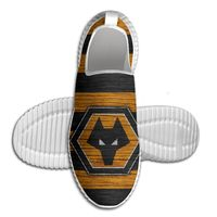 Men's For Womens Wolverhampton Wanderers F.C. Emblem Comfort Sports outdoor Shoes Lightweight Breathable Sneaker Running Shoes