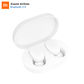 100% Original Xiaomi AirDots Bluetooth Earphone MI Redmi airdots Mini Wireless Bluetooth 5.0 Stereo Headset With Mic Earbuds artificial nails