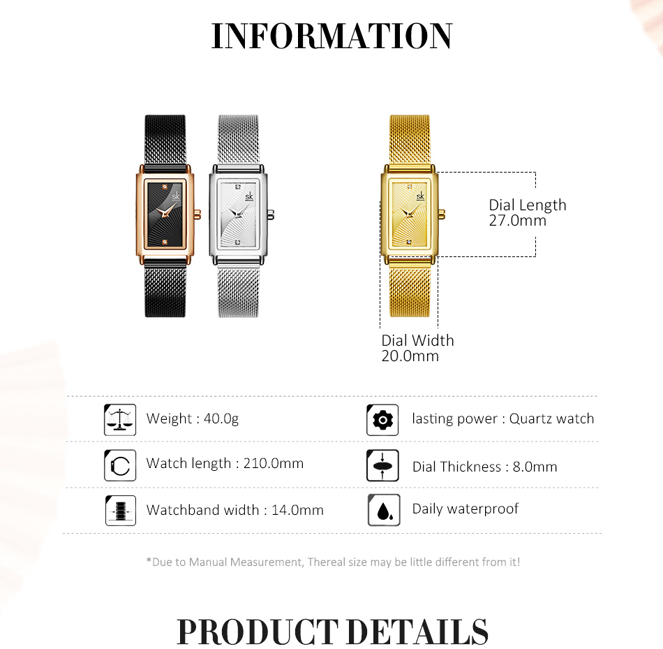 Shengke Women Watches Fashion Geneva Designer Ladies Watch Ladies watch