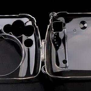 Image 5 - Przezroczysta twarda obudowa obudowa ochronna torba na aparat ochronny do aparatu fotograficznego Fujifilm Instax Mini 8/9 Mini 8/Mini8 +/9 Film natychmiastowy