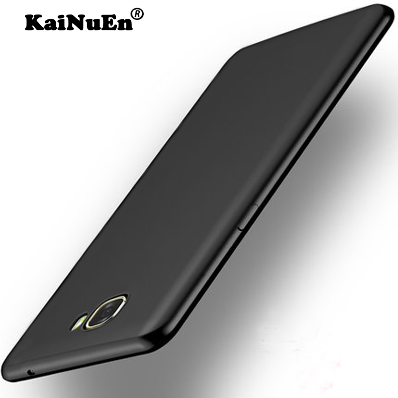KaNuEn Silicon phone case for Samsung Galaxy A 5 a5 2015 / A5 2016 / A5 2017 case Silicone 3d tpu Luxury soft back Cover gold