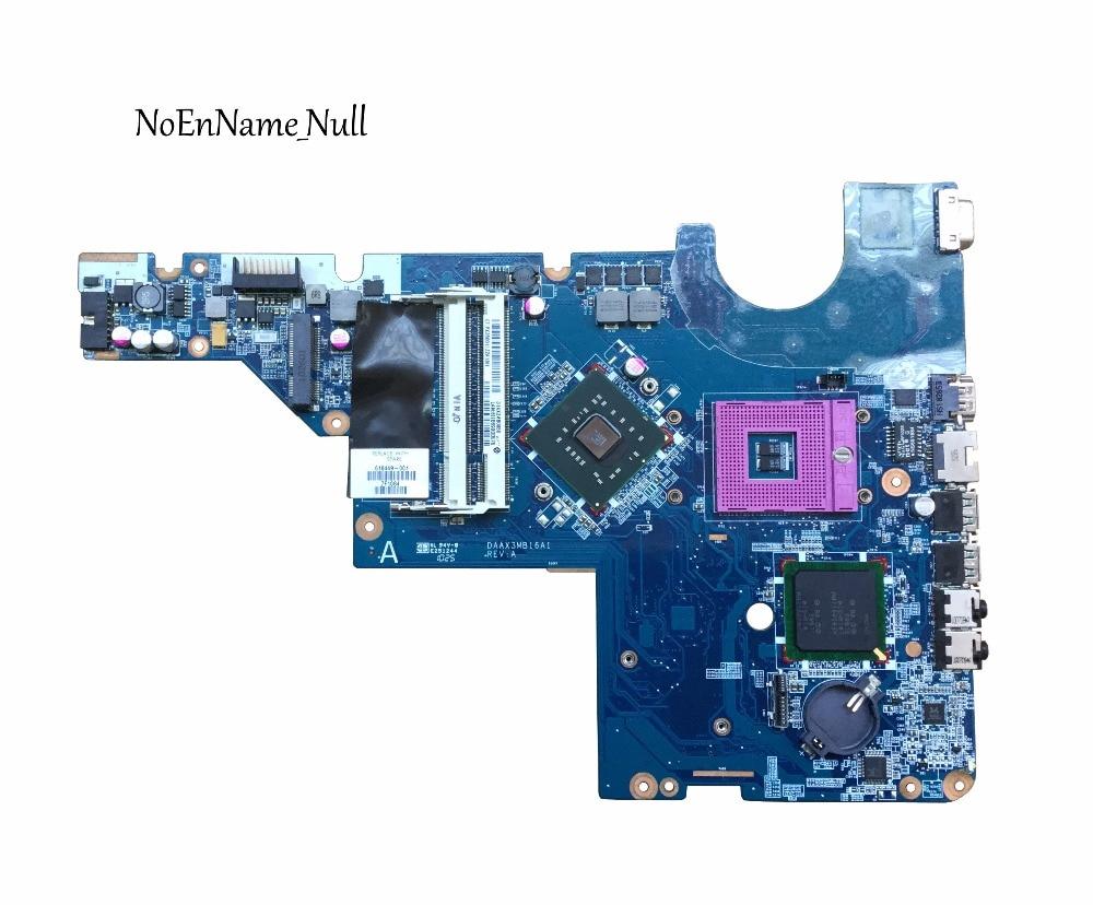 Livraison Gratuite 616449-001 pour HP G42 CQ56 G56 CQ42 G62 motherboar Portable GL40 mère d'ordinateur portable DAAX3MB16A1, 100% entièrement testé
