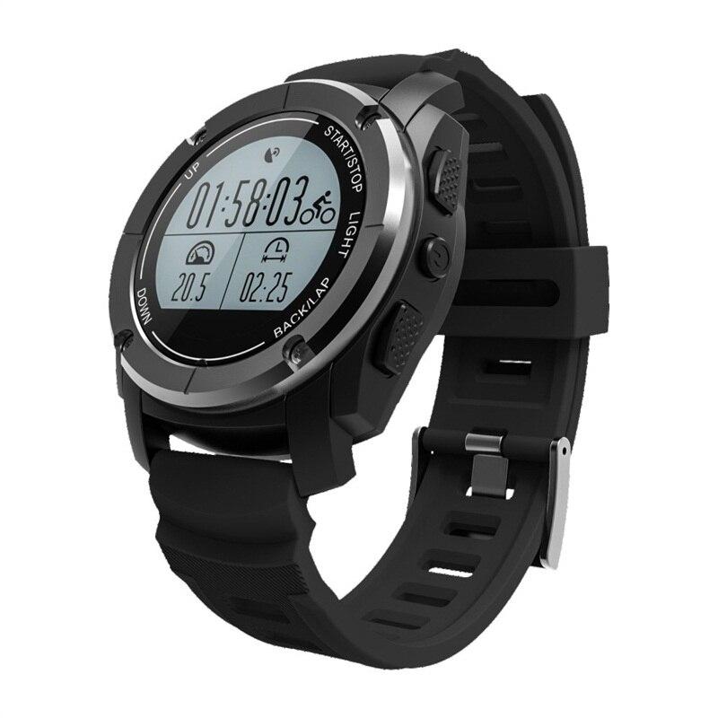696 S928 Acier Inoxydable Avant Shell PC de Couverture Arrière Bluetooth Montre Smart Watch Santé