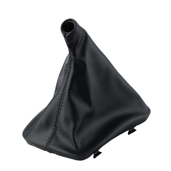 Automotive Car Gear Shift Stick Gaiter Boot Dust Cover for BMWE30 E34 E36 E46 Z3 X5 Car-styling Interior Accessories image