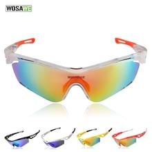 2017 Gafas Ciclismo Sports Polarized Cycling Sun Glasses Windproof Uv400 Bicycle Bike Sunglasses Tr90 Goggles Eyewear 3 Lenses