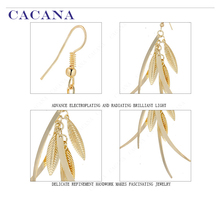 CACANA  Dangle Long Earrings For Women Top Quality Fashion Bijouterie Hot Sale No.A201 A202