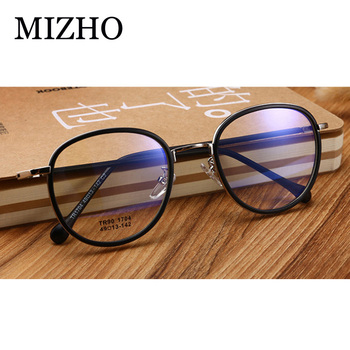 MIZHO Anti Blue Rays Computer Glasses Women Blue Light Gaming Glasses Men Protection Myopia Spectacles Prescription Optical tr90