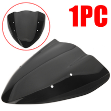 For Kawasaki Z 1000 2003-2006 1PC Motorcycle Windscreen Windshield Black ABS Plastic Wind Shield Treyues