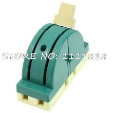 250VAC 63A 2P Double Throw Electronic Circuit Opening Load Knife Switch Green