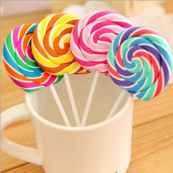 1 PCS Cartoon Kawaii Stationery Lollipop Rubber Eraser Novelty Gifts School Supplies For Kids