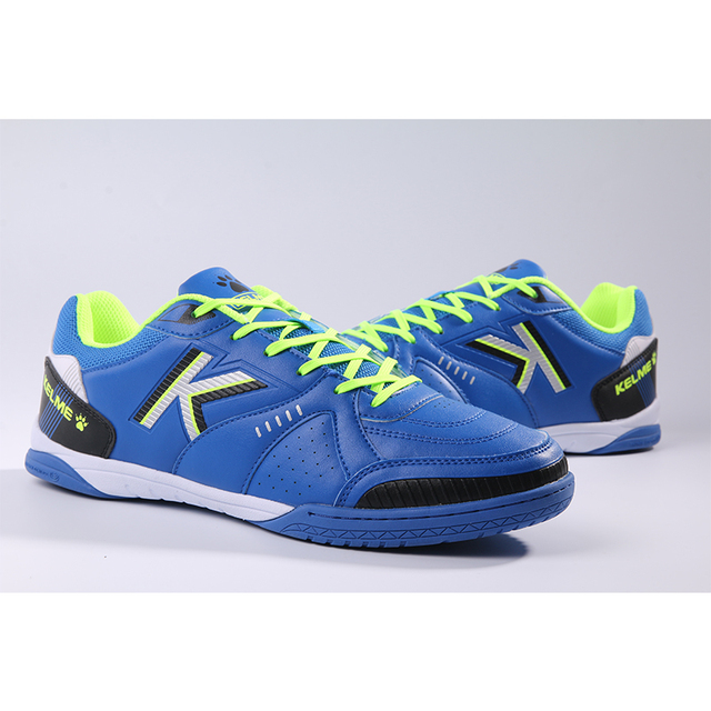 ae5d60905 KELME Professional Men s futzalki football shoes sneakers indoor futsal  2018 original football soccer boots 67831100