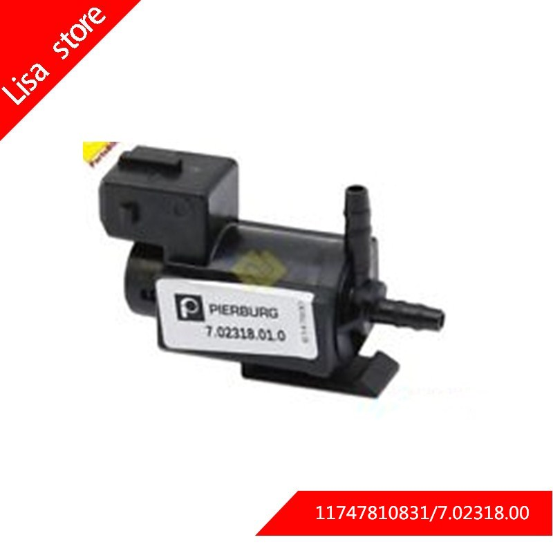 High Quality 11747810831 Pressure Solenoid Valve Fits For BMW E39 E46 E81 E82 E90 E91 E92
