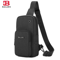 BALANG Brand Men Travel Chest Messenger Bag For 7 9 Ipad Waterproof Travel Shoulder Bags Light