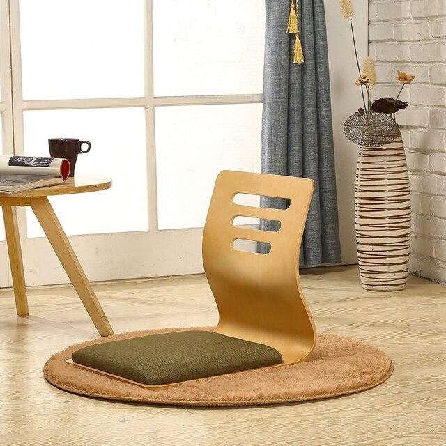 Купить 4 шт/лот стул без ноги в японском стиле толстое сиденье для картинки