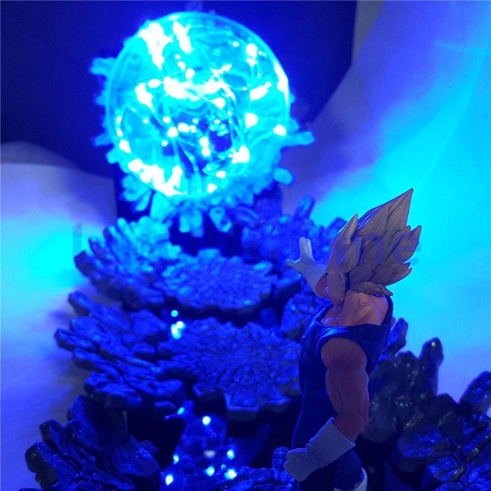 Led Lamps Dragon Ball Z Vegeta Super Saiyan Power Up Led Night Light Dbz Evil Vegeta Action Figure Lamp Led Bedroom Decoration Gift