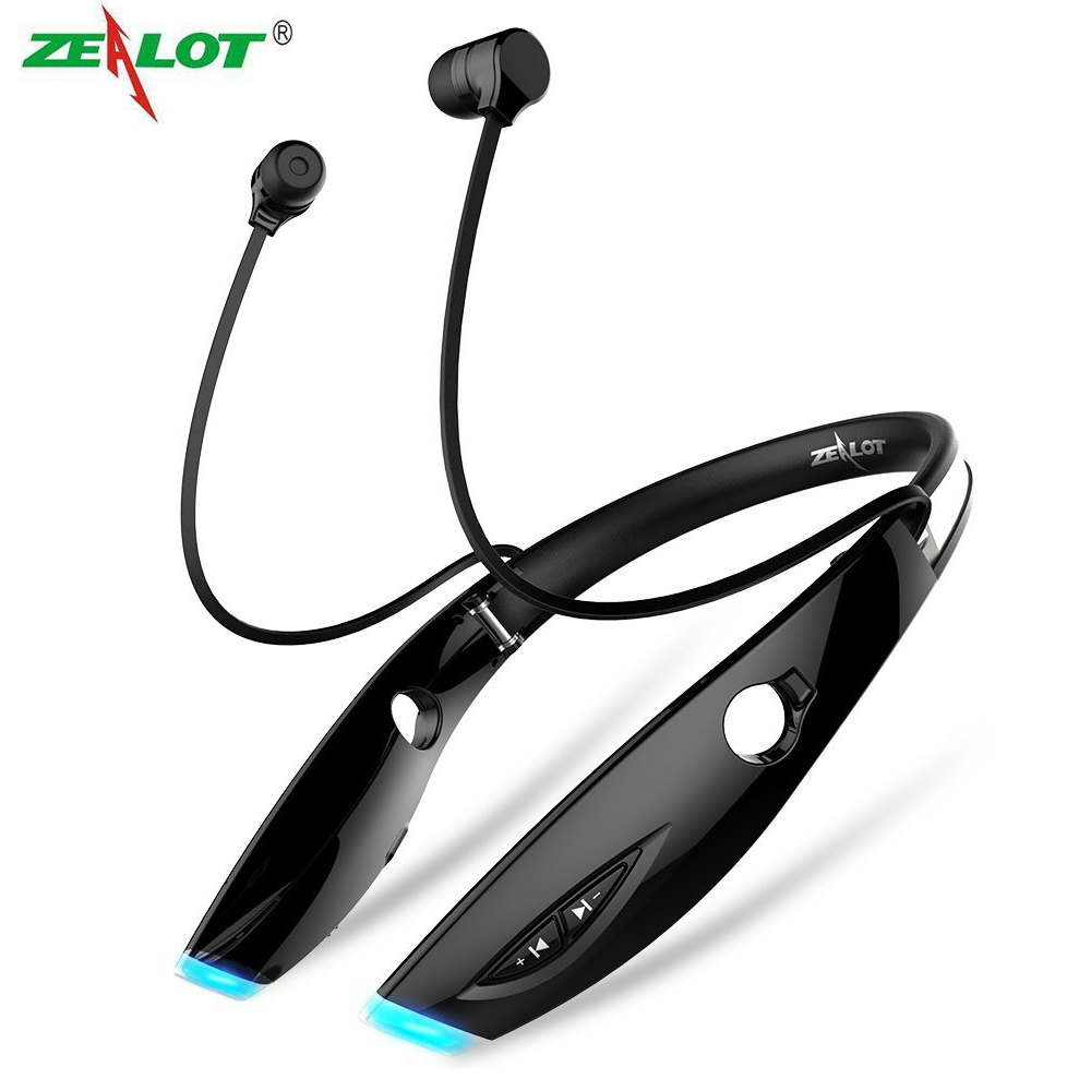 Original Zealot H1 Wireless Bluetooth Earphone Sport Stereo Bluetooth Headset 4.0 Universal Earphones with Mic for iPhone xiaomi 2017 scomas i7 mini bluetooth earbud wireless invisible headphones headset with mic stereo bluetooth earphone for iphone android