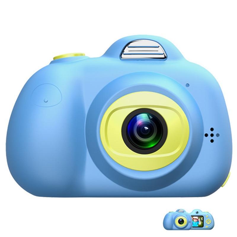 Enfants jouets caméra Mini appareil Photo numérique petit reflex dessin animé enfants appareil Photo jouet cadeau Camaras Fotograficas Digitales Photo de voyage