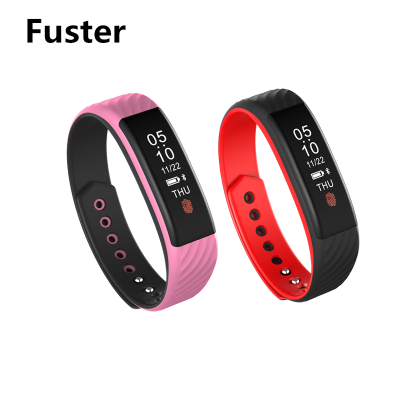 Fuster W810 Sleep Monitor Fitness Smart Bracelet Bluetooth 4 0 Band Compatible with Android IOS Samsung