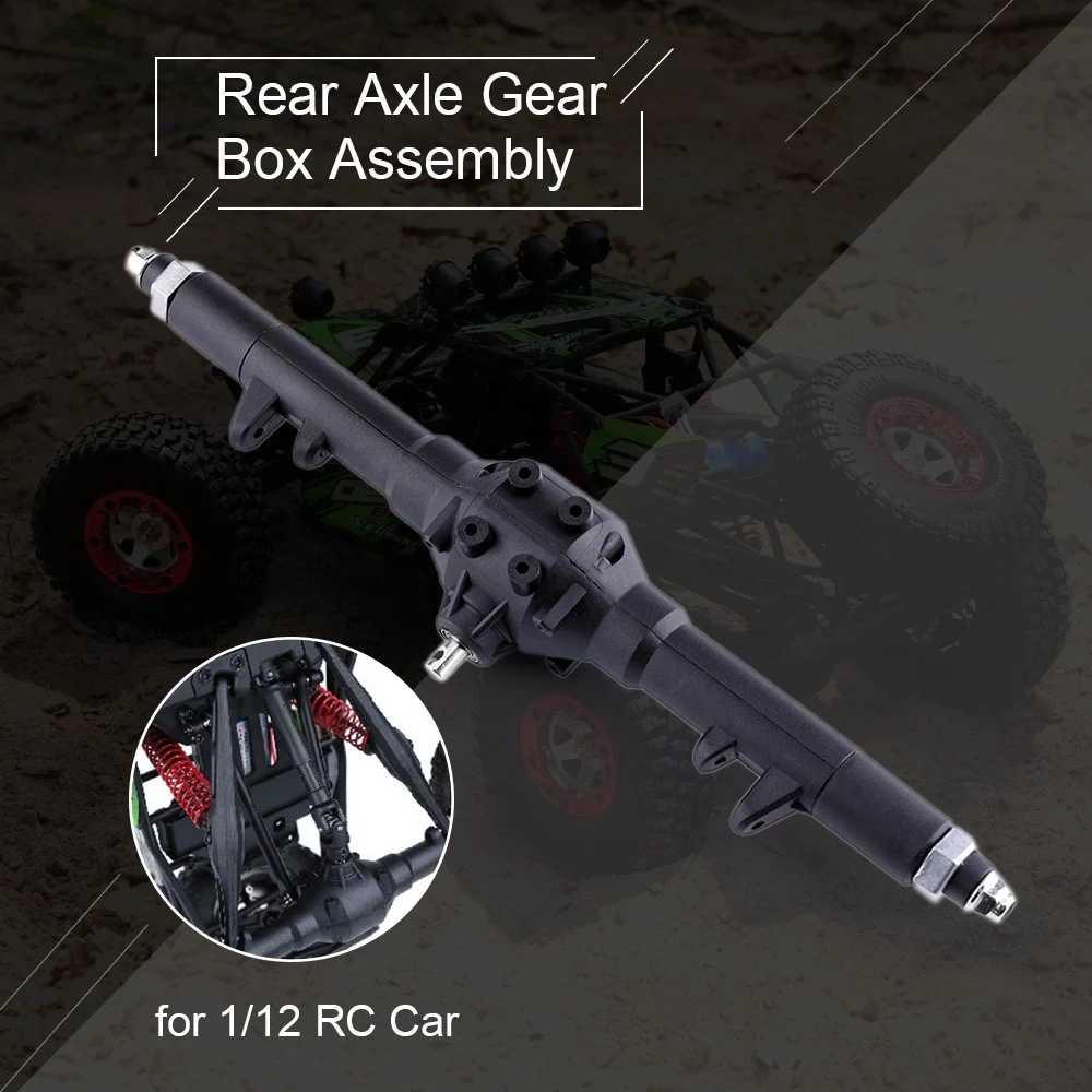 Rc Auto Accessoires Achteras Versnellingsbak Montage Geschikt Voor 1/12 Rc Auto Feiyue FY01 FY02 FY03 Onderdelen