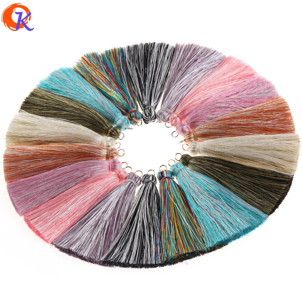 Cordial Design 5Pcs/Bag 7.5cm*1cm Tassel/Silk Tassel/Hand Made/Accessories Parts/Jewelry Finding/Jewelry Findings & Components
