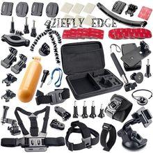 Free Shipping Gopro Accessories kit for gopro hero 4 SJCAM SJ4000 SJ5000 xiaomi yi accessories sjcam Accessories