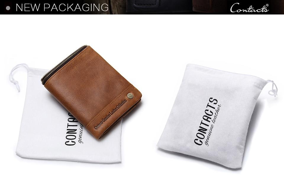couro genuíno zíper bolsas vintage marca nova