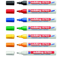 Germany Edding 8750 Anti-oil Temperature Metal Marker Dust Surface Industrial Paint Pen 1PCS