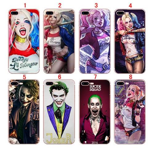 imágenes para Para iPhone 5c 5 5S 4S SE 6 6 s 7 Plus Joker cubierta de la caja Dura de la PC
