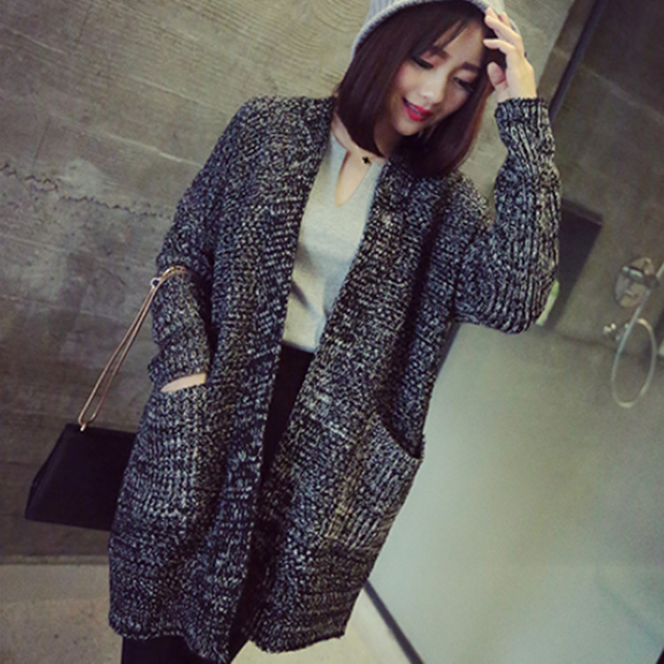 New arrival Autumn/Winter Long Knit Cardigan For Women Fashion ...