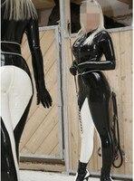 Женские черные и белые фетиши латексные облегающие боди (не включая руки и ноги)