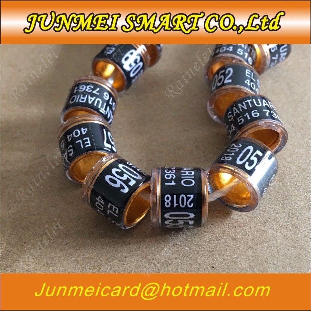🛒 100pcs Personal customization pigeon rings bird ring leg