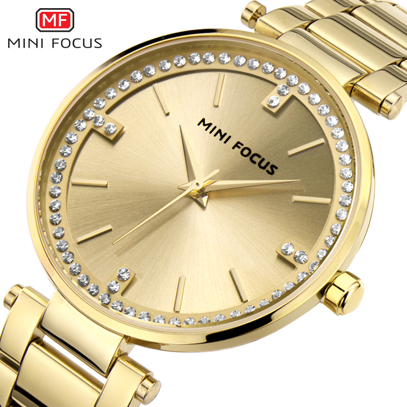 MF Top Luxury Brand Fashion Womens Watches Clock Women Steel Strap Rose Gold Bracelet Quartz Watch Reloj Mujer 2018 New Hot kimio brand luxury exquisite gold bracelet business ladies casual clock reloj mujer women fashion stainless steel quartz watch