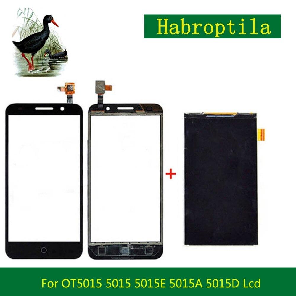 Haute Qualité 5.0 pour Alcatel Pixi 3 OT5015 5015 5015E 5015A 5015D 5015X Lcd Display + Écran tactile Livraison Gratuite Code De Suivi