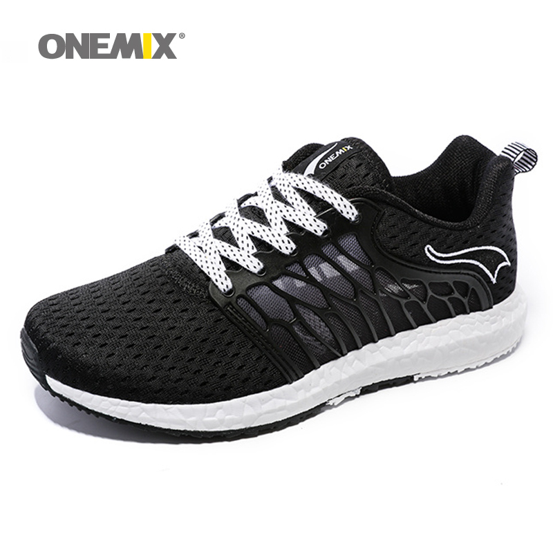 ONEMIX New Unisex Running Shoes Breathable Mesh Men Athletic Shoes Super Light Outdoor Women Sport shoes lovers walking shoes camel shoes 2016 women outdoor running shoes new design sport shoes a61397620