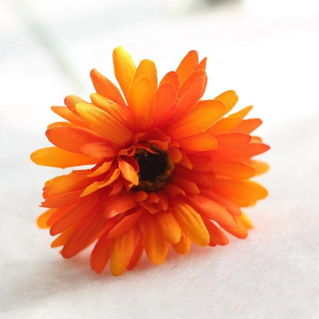 5 шт. daisy цветы искусственные цветы шелк курган осень украшения дома вечерние Европейский vivid пион накладные брак листьев