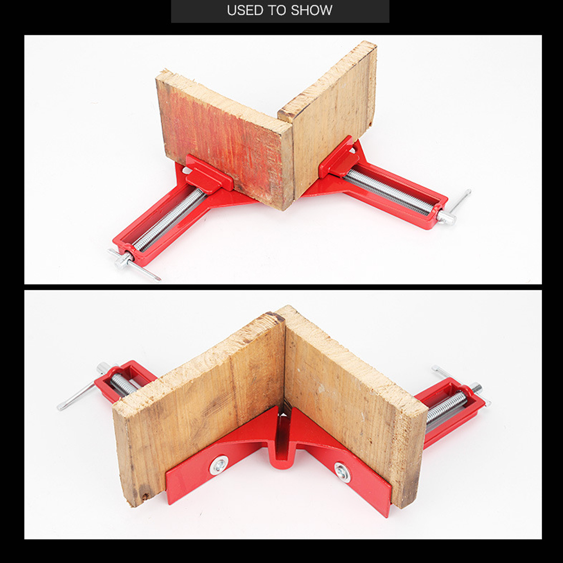Woodworking Hand Tool Multifunction 90 Degree Right Angle Clip Picture Frame Corner Clamp Mitre Clamps Corner Holder