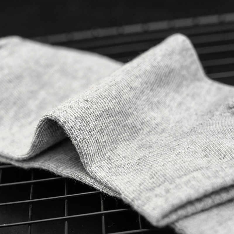 M Mism Plus Ukuran 100% Kapas Kaus Kaki Pria Olahraga Calcetines Hombre Pergelangan Kaki Kaus Kaki Gym Meias Masculina Musim Panas Besar Kasual kaus Kaki