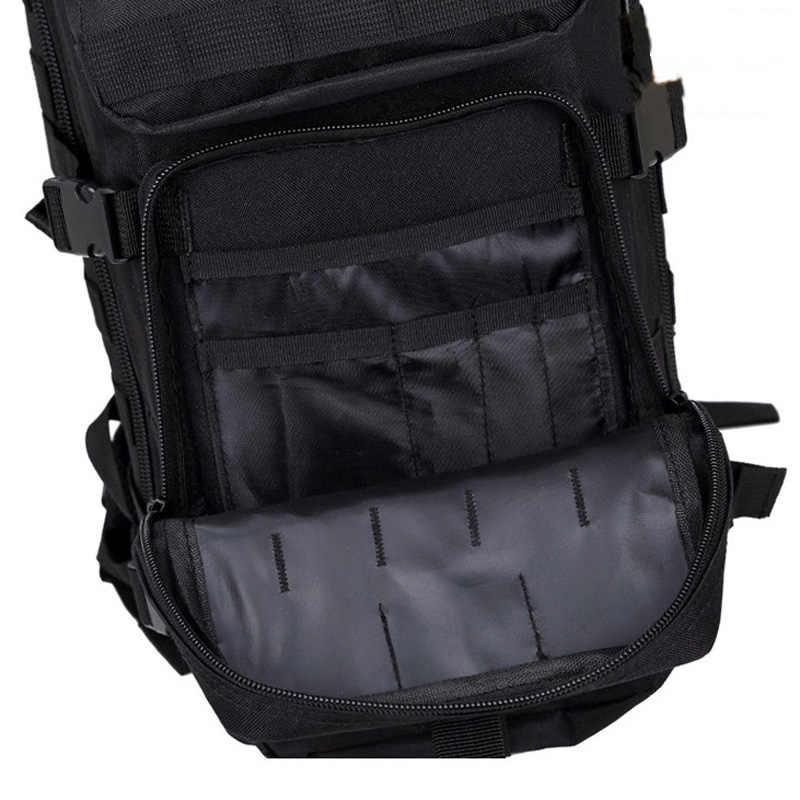 35L Military Army Backpack Trekking Bags Camouflage Rucksack Molle Tactical Bag Camping Sac De Sport Travel Backpacks XA161WA
