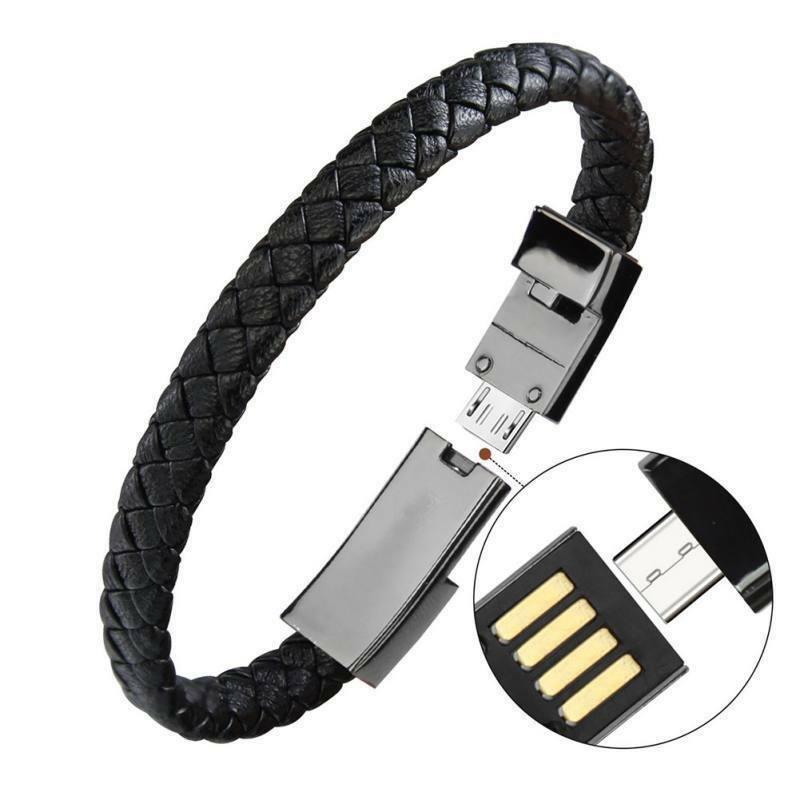 Portable Bracelet Wristband Usb Cable
