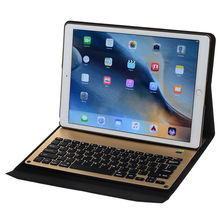 Wireless Bluetooth Keyboard Sleep Ultra Slim Stand Case Cover For iPad Pro 12.9″