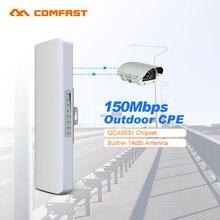 1-2 км COMFAST 2.4 ГГц Беспроводной Открытый Wi-Fi приемник мост 14dBi Wi Fi Телевизионные антенны siganl усилитель CPE NanoStation IP Cam маршрутизатор