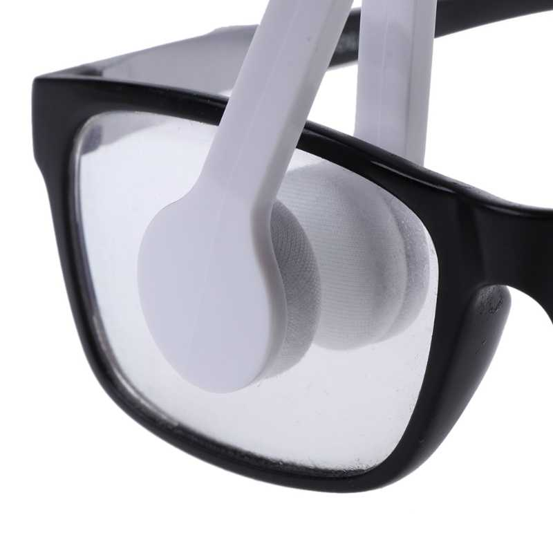 Hot New 1 Pc Useful Colors Mini Sun Glasses Eyeglass Microfiber Spectacles Cleaner for Men Women