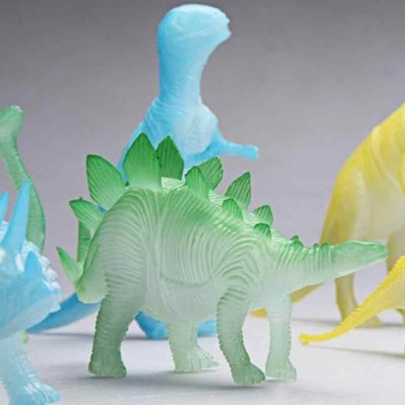 Night Light Noctilucent Dinosaur Figure Gift Toy for Children Kids Toys ·