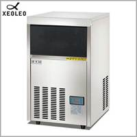 XEOLEO Commercial Ice maker 45kg/24h Ice machine 100lb Square Ice make machine Air-cool R22/R404 Stainless steel Cube ice