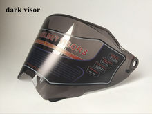 only suitable for our own motorcross notorcycle helmet motorcycle helmet visor clear and dark color available(China)