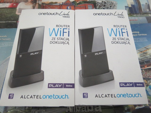 Abierto Alcatel One Touch Y800 100 Mbps 4 G LTE FDD Wirelss Router WIFI móvil